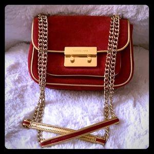 MICHAEL KORS ⚜️ Red Suede Bag